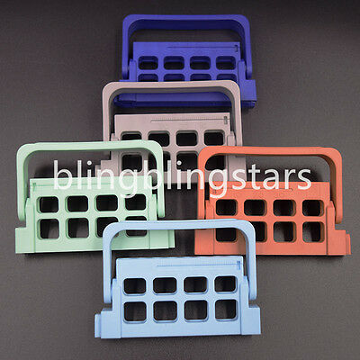 Dental Autoclavable Endodontic Block 8 Holes Measure Endo Files Holder Dispenser