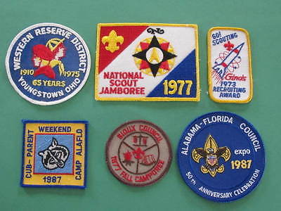 Recruiting Award Youngstown Ohio Sioux Council 6 BSA US America Scouts Badges