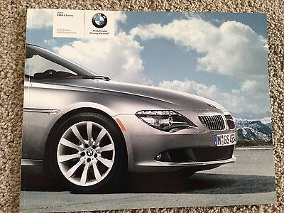 2009 BMW 6 Series Sales Brochure