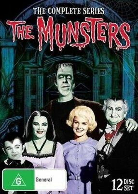 The Munsters: The Complete Series [Region 4] - DVD - New - Free Shipping.