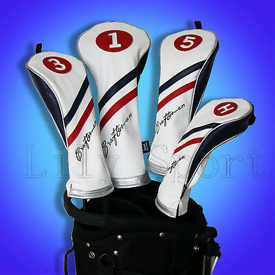 NEW Golf Wood Head Covers Rescue Headcover Driver Cover Fairway Wood Headcover