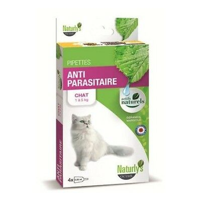 PIPETTES pour CHAT Naturly's x4