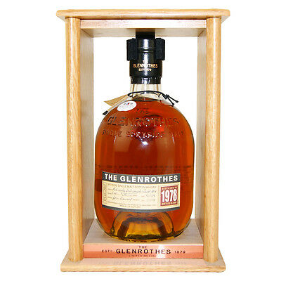 1978 Glenrothes Single Malt Scotch Whisky 700mL