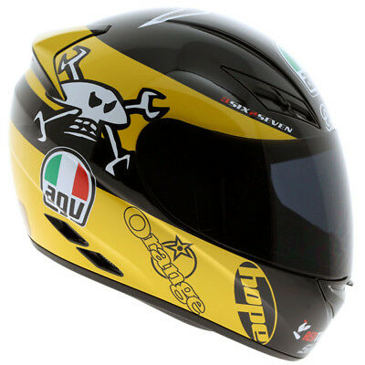 AGV K3 Full Face Motorbike Motorcycle Helmet - Guy Martin