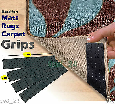 Mat Rug Carpet Grips - Non Slip Gripper Strip Slide Anti Skid For Hallway Runner