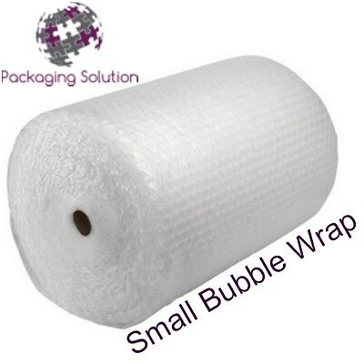 QUALITY SMALL BUBBLE WRAP ROLL - SIZE 1000mm x 100m