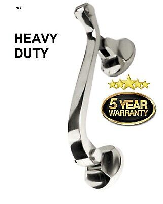 Doctors Door Knocker Heavy Duty Urn knocker Quality Traditional Style chrome