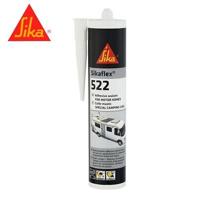 Sika Sikaflex 512 White Caravan & Motorhome Sealant Bond VERY STRONG 300ml G439