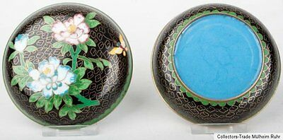 China 20. Jh. Deckeldose - A Small Chinese Cloisonne Enamel Box - Cinese Chinois