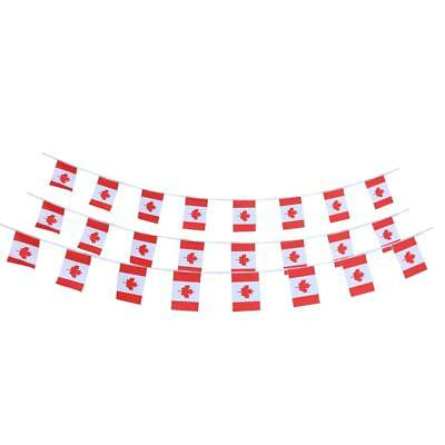 CANADA FLAG BUNTING Canadian Maple Leaf 10m 30 Party Flags BANNER