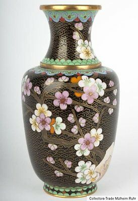 China 20. Jh. - A Chinese Cloisonne Enamel Vase - Vaso Cinese - Jarrón chino