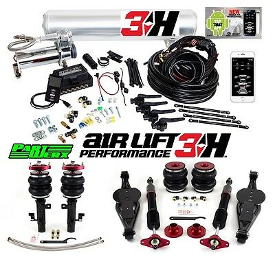 "Ford Focus ST RS Air Lift 3H 3/8"" Management + Performance Series Kit Air Ride"