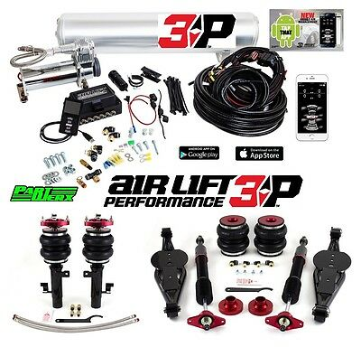 "Ford Focus ST RS Air Lift 3P 1/4"" Management + Performance Series Kit Air Ride"