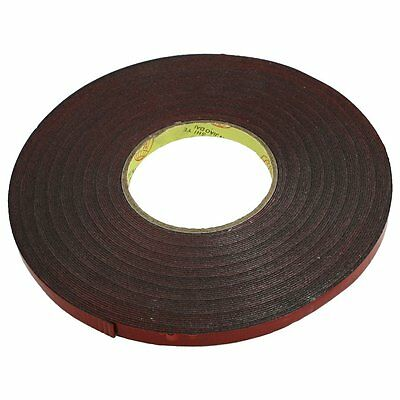 WD New 10mm Width 30M Length Red Film Acrylic Foam Double Sided Tape for Car
