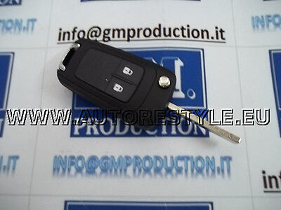 Shell Cover Key For Remote Control 2 Buttons Opel Astra J Insigna Zafira Corsa