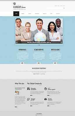 Website Template Responsive Mobile Website Business Wordpress Template Design