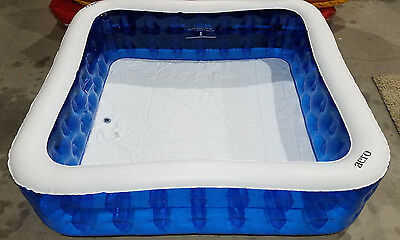 AERO Family Lounge Pool Swim Center Inflatable 6.5 FT X 6.5 FT