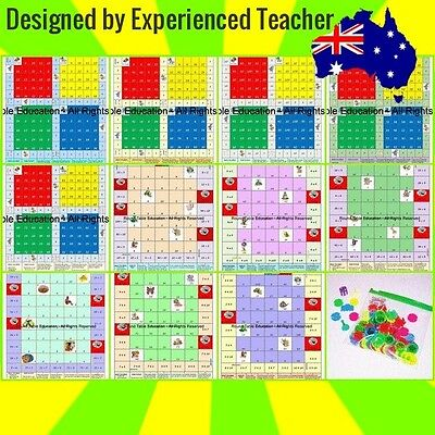 Board Game To Learn Times Tables - fraction frenzy board game ...