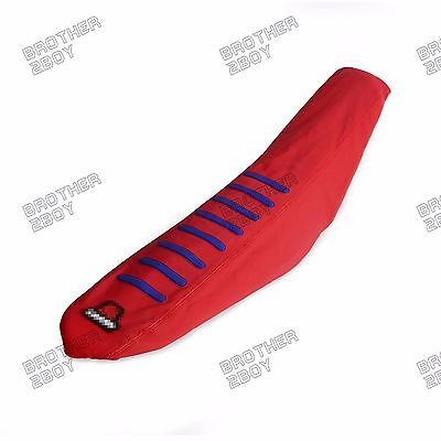 Ribbed Gripper Soft Seat Cover for Honda CRF250R 2010-2013 CRF450R 2009-2011 12