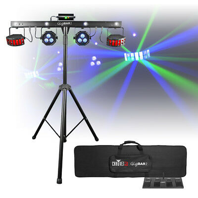 Chauvet DJ GIGBAR 2.0 Multi Effects LED Lighting System IRC Band Stage Disco