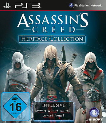 Sony Playstation 3 PS3 Spiel Assassin's Creed -- Heritage Collection