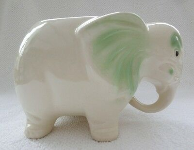 Vintage Ceramic Elephant Planter 5½ Inches Tall