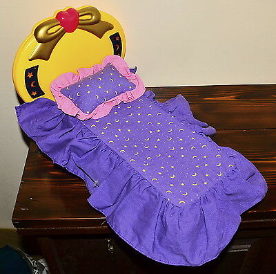 "Sailor Moon Doll bed light up Deluxe Adventure Doll 11.5"" Irwin vintage"