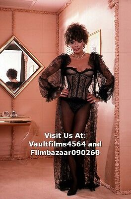 """JOAN COLLINS - 12"""" x 8"""" Colour Photographic Shoot For Adult Magazine 1983 #1938"""