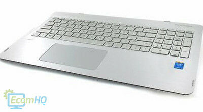 807526-001 HP Envy X360 Convertible 15 Top Cover TouchPad Keyboard Palmrest