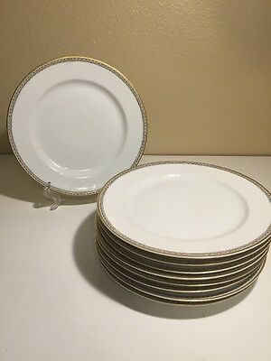 "SET OF 9 HEINRICH H & C SELB BAVARIA Imperial 9 3/4"" dinner plates. EUC!"