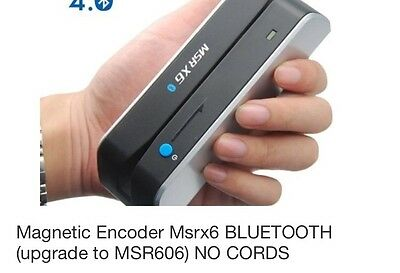 Msrx6-Bluetooth Wireless Magnetic Encoder Reader Writer