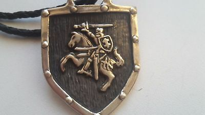 Lithuania coat of arms silver 935 badge / pendant - HAND MADE !!!