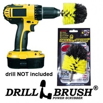 Drill Brush Cordless Drill Power Scrubber. Free Shipping