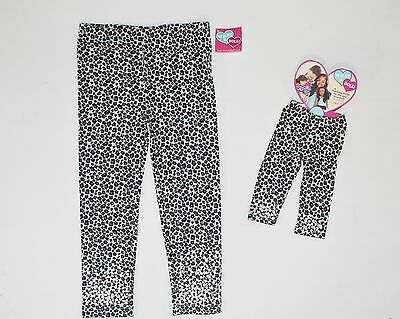Girl 4 5 and Doll Matching Black Leggings Pants Fit Dollie & Me American Girls