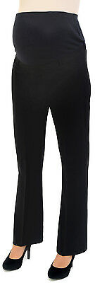 Stretch Tailored Maternity Trousers LONG TALL 18-20 22-24 26-28 Work PLUS SIZE