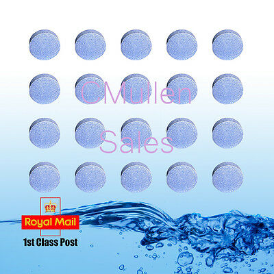 50 x 20g CHLORINE TABLETS 5 IN 1 Multifunction SWIMMING POOL HOT TUB SPA