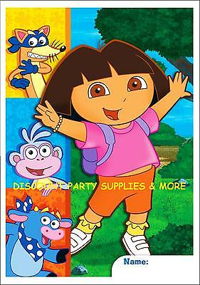 Dora the Explorer & Friends Treat Loot Bags 8pcs Party Favors Supplies