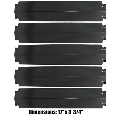 17'' Charbroil Gas Grill Heat Plate Porcelain Steel Heat Shield Tent PH941-5pack