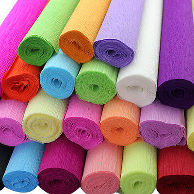 DIY Crepe Paper Wedding Birthday Party Supplies Decoration Paper Streamer Roll