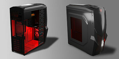Mars Gaming MC416 Case Middle Tower ATX Con 6 USB ATX-MICRO ATX VENTOLA 120MM