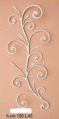 Coat hangers coat racks a 5 places wrought iron wall Lily mod. vertical