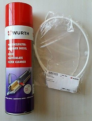 2X Brand New Genuine Wurth Dpf Diesel Particulate Filter Cleaner  400Ml Spray