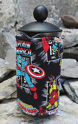 Superheros Marvel Cafetiere Cosy Option of Small Medium or Large Size cosies