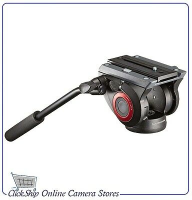 Manfrotto MVH500AH Fluid Video Head with Flat Base Mfr # MVH500AH Brand NEW
