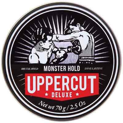 Uppercut Deluxe Monster Hold Wax 70g Mens Hair Product Firm Strong Hold