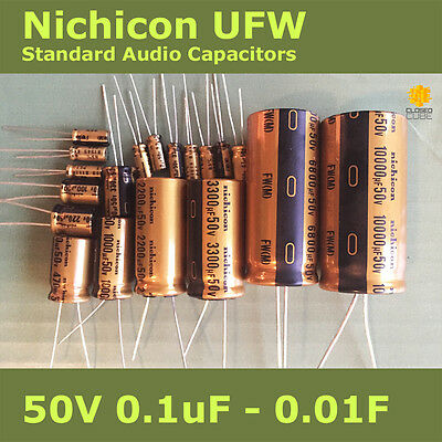 Nichicon UFW FW Standard for Audio [50V] Capacitors