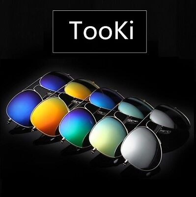 Men Women Polarized Glasses Sunglasses Driving Fishing Aviator Goggles Eyewear