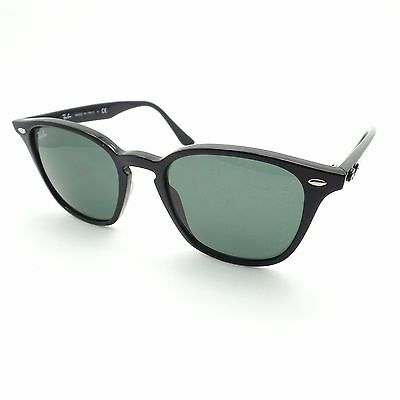 Ray Ban 4258 601/71 Black Green Sunglasses New Authentic
