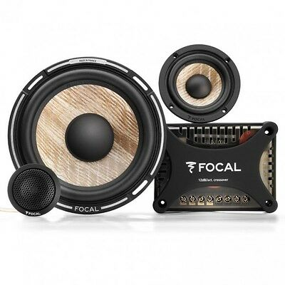 "Focal Flax PS165F3 Performance 6.5"" & 3″ 3-Way Component Speaker Kit"