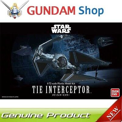 BANDAI Star Wars 1/72 Tie Interceptor No. 208099 JAPAN